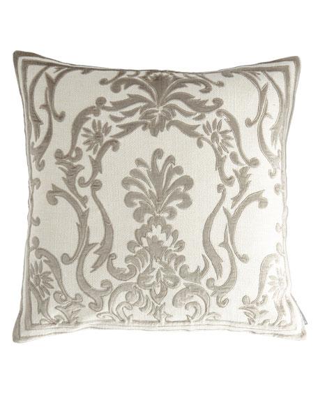Lili Alessandra Gray & Pewter Decorative Pillows