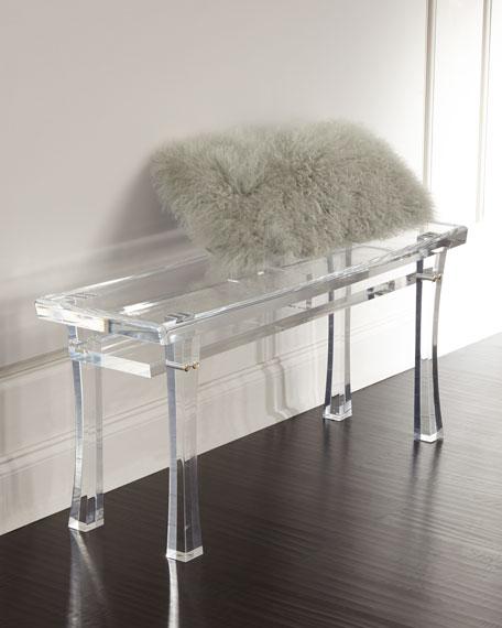 Jacinda Acrylic Bench