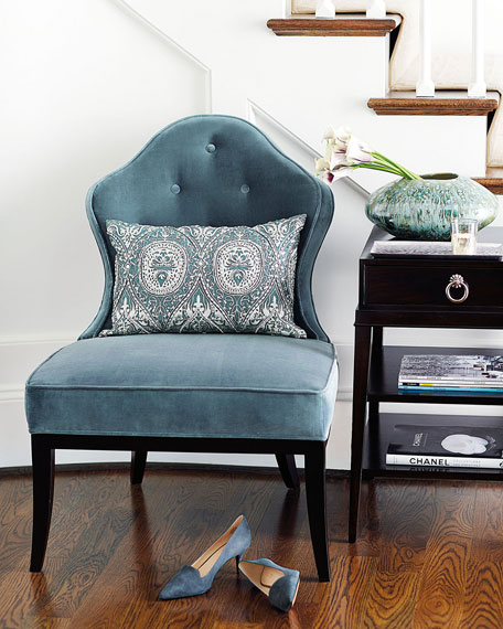 Nance Tufted Back Chair