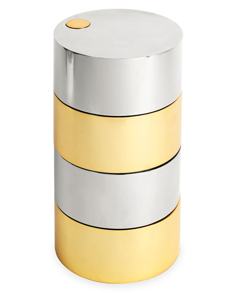 Cylinder Electrum Box