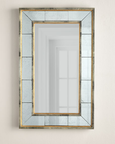 Interlude Home Evelyn Eglomise Mirror