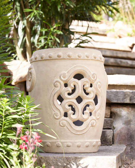 Filigree Garden Stool