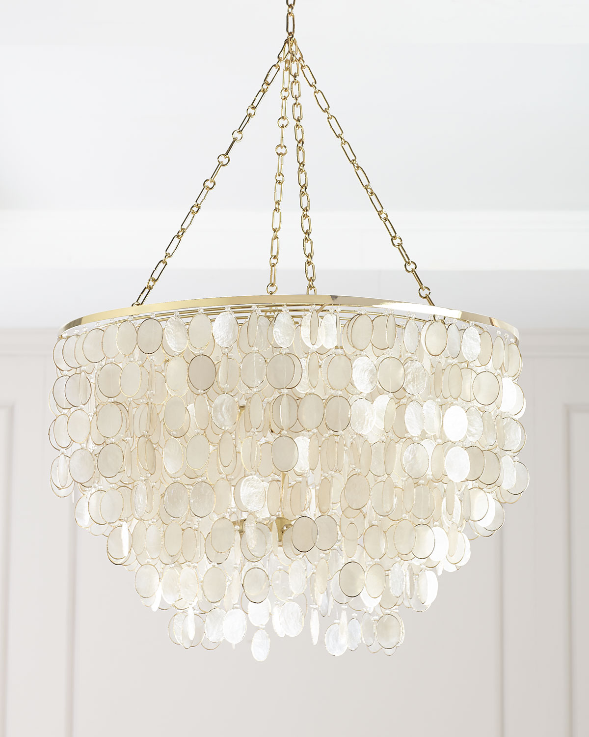 Handcrafted shell chandelier neiman marcus large aurora 6 light chandelier arubaitofo Image collections