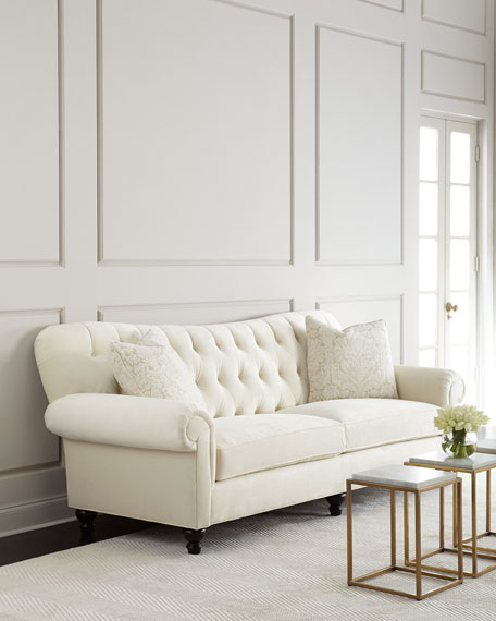 Perla Tufted Sofa