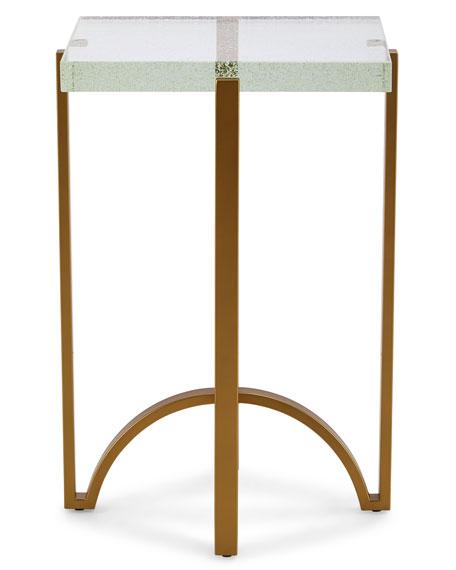 Kingman Glass-Top Side Table