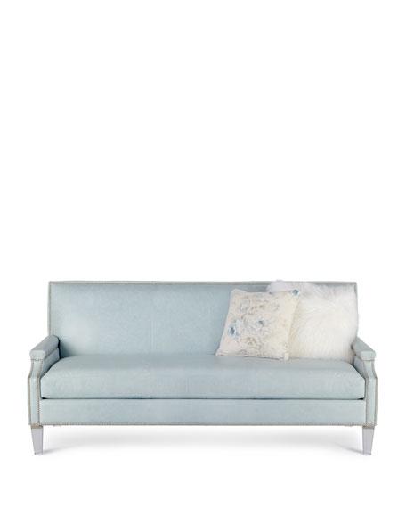 Tidewater Leather Sofa