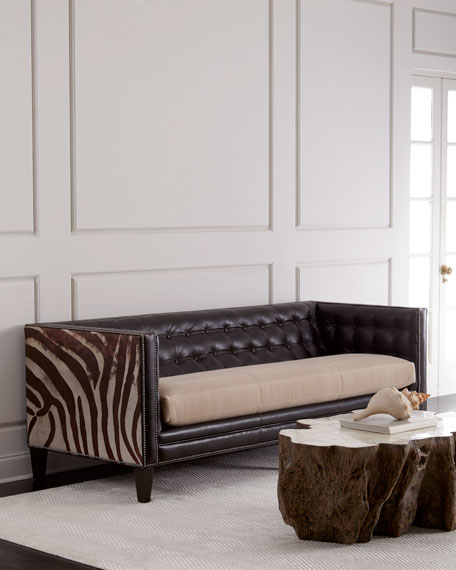 Geronimo Leather Sofa