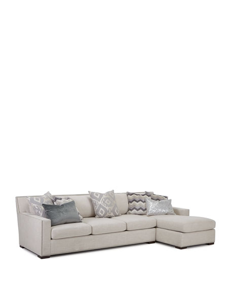 Demeter Right Chaise Sectional Sofa