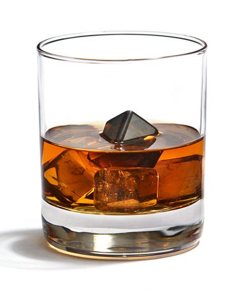 Vida Smokey Quartz Whisky Cubes, Set of 6