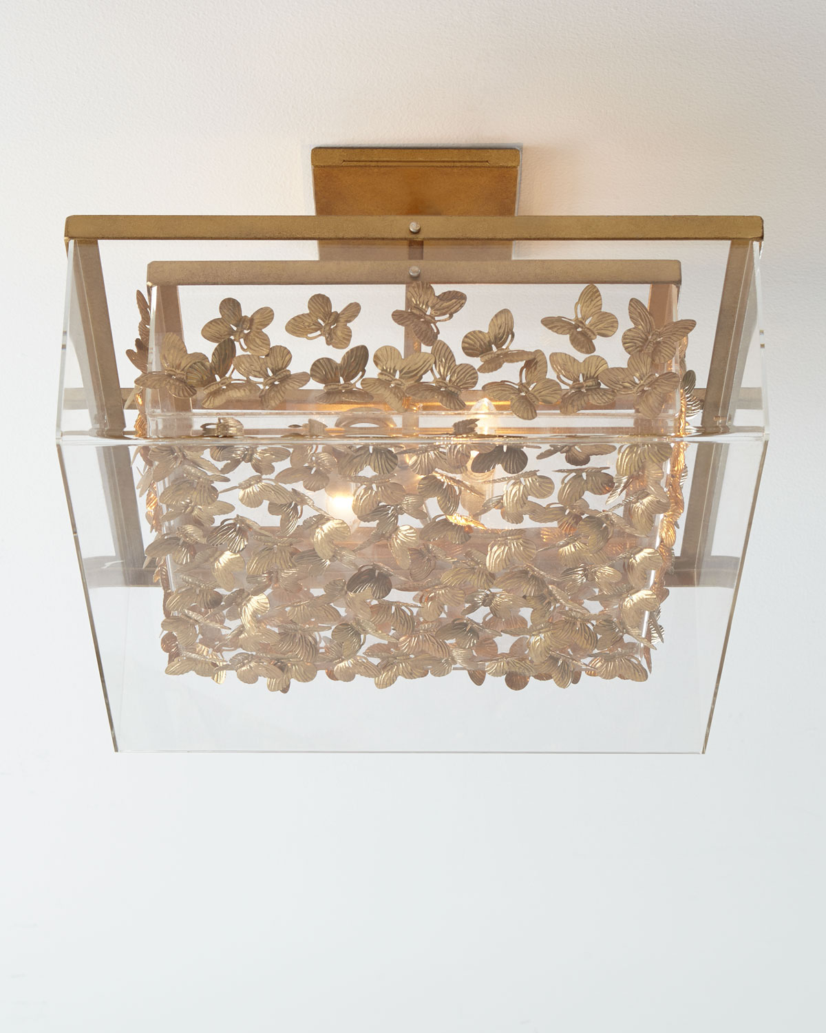 Ceiling light fixture neiman marcus quick look tommy mitchell butterfly flush mount ceiling light arubaitofo Choice Image