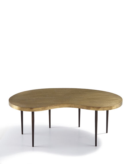 Brass Coffee Table Affordable Core Inlay