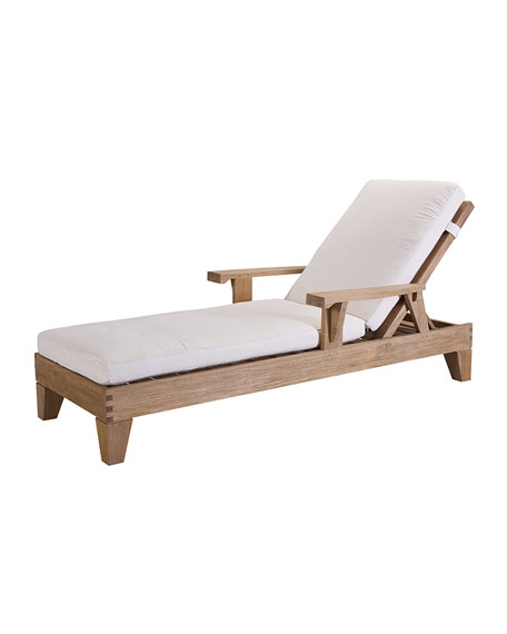 Saranac Outdoor Chaise