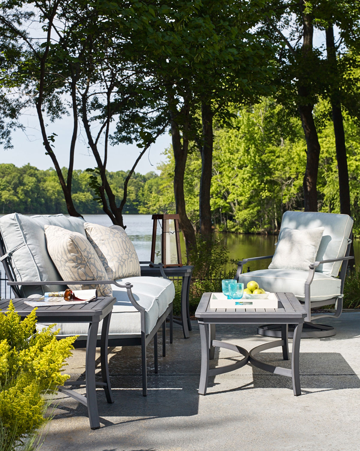 Raleigh Outdoor Coffee Table - Lane Venture Raleigh Outdoor Furniture & Matching Items Neiman Marcus