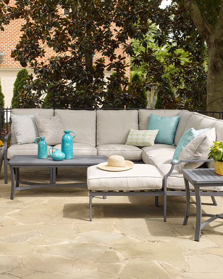 Lane Venture Raleigh Outdoor Side Table and Matching