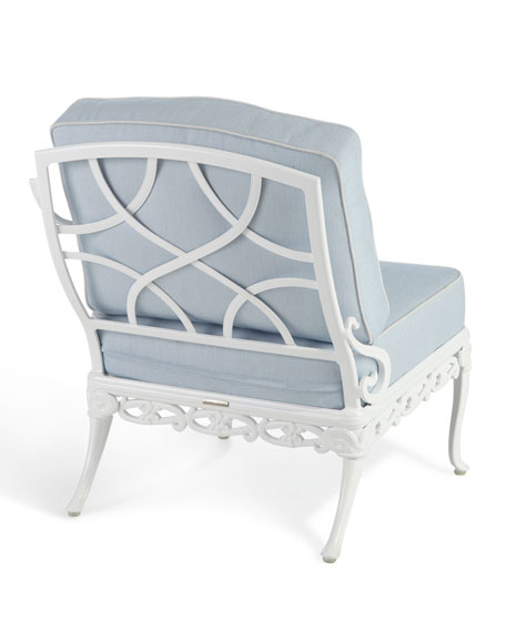 Day Lily Left-Arm Outdoor Chair