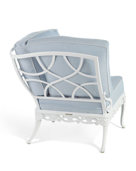 Day Lily Outdoor Corner Chair
