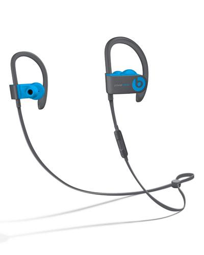 Flash Blue Powerbeats 3 Wireless Earphones
