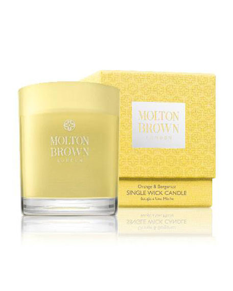 Molton Brown Orange & Bergamot Single-Wick Candle, 6.3