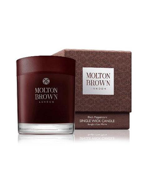 Molton Brown Black Peppercorn Single-Wick Candle, 6.3 oz./