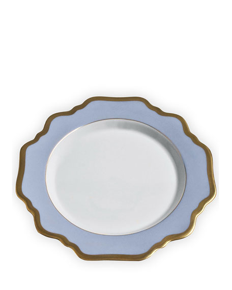 Anna Weatherley Anna's Palette Sky Blue Salad Plate