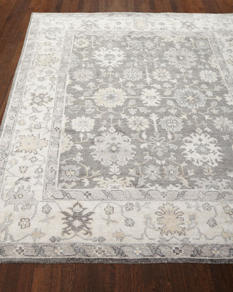 Andrea Hand Knotted Rug, 4' x 6'