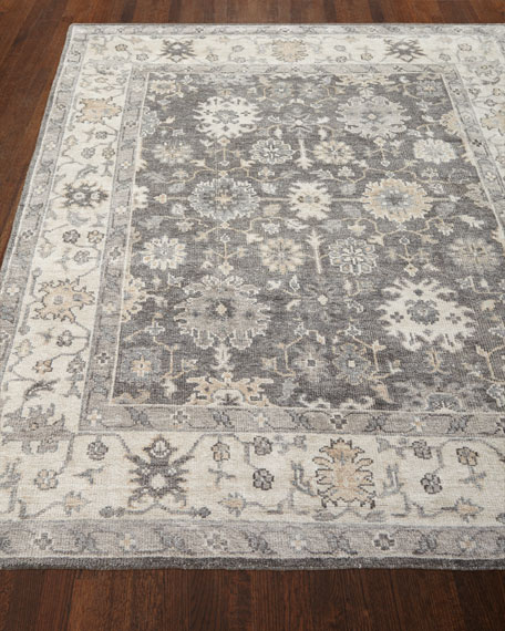 Andrea Hand Knotted Rug, 8' x 10'