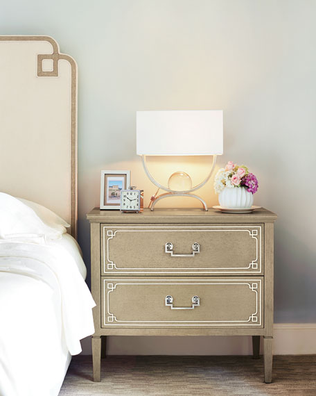 Bernhardt Ophelia 2-Drawer Nightstand