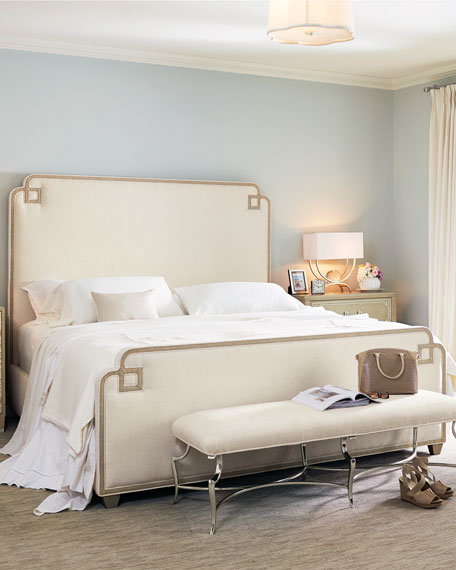 Ophelia Upholstered King Bed