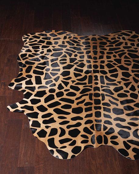 Jani Giraffe-Print Rug, 5' x 7'