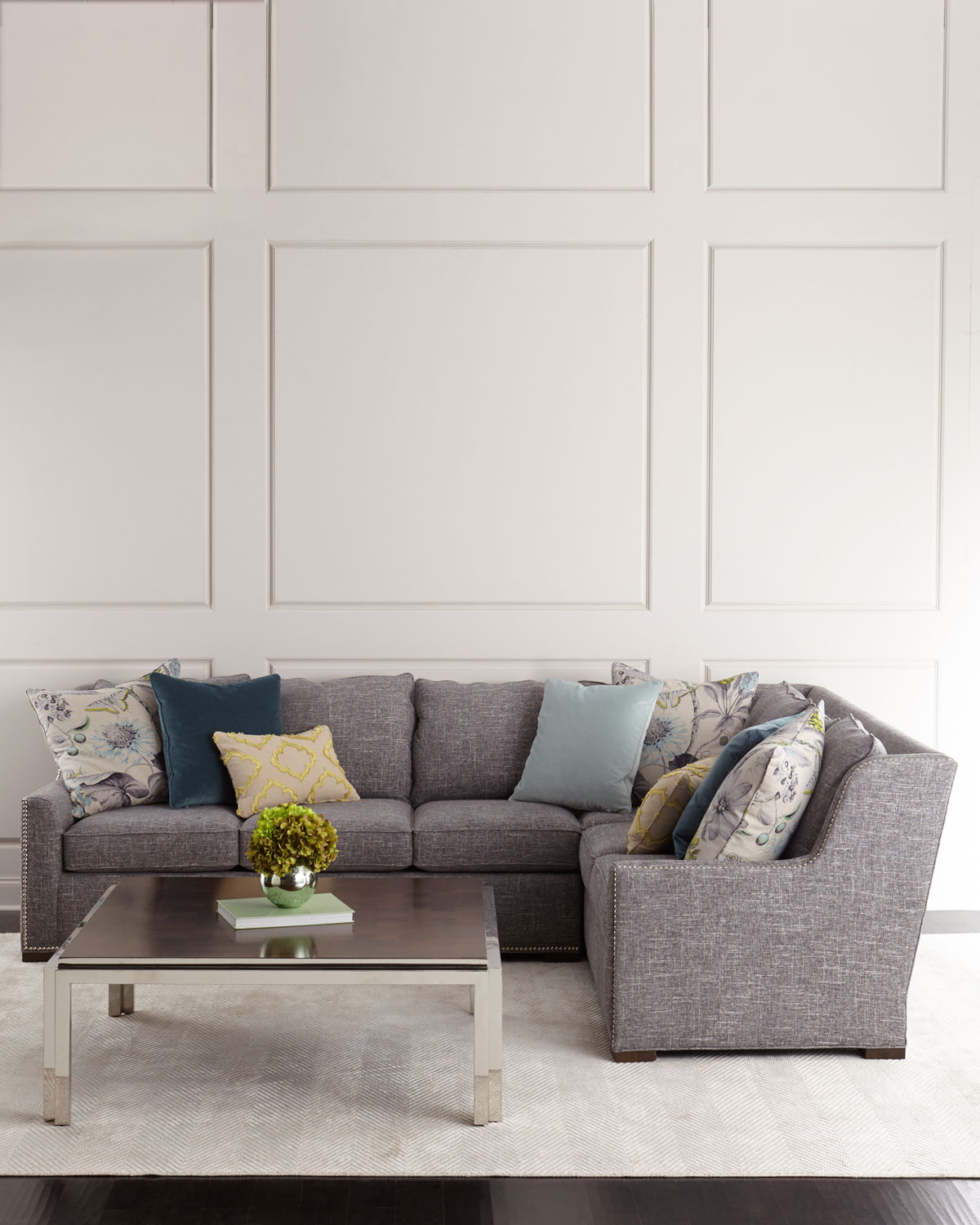 Augustine Right Arm Sectional Sofa