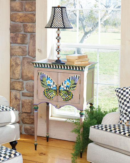 Butterfly Console Cabinet