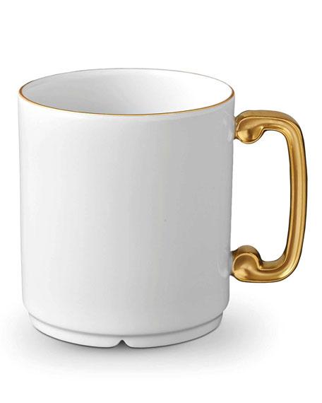 L'Objet Han White/Gold Mug
