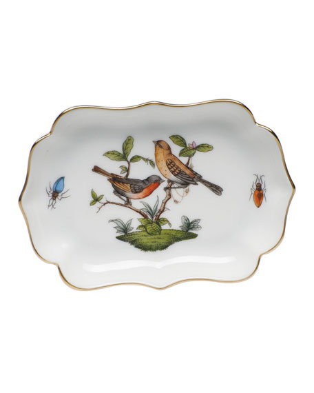 Herend Rothschild Mini Scalloped Tray