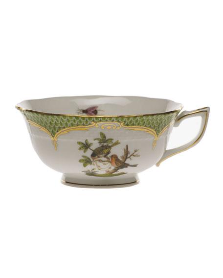 Herend Rothschild Bird Green Motif 10 Tea Cup