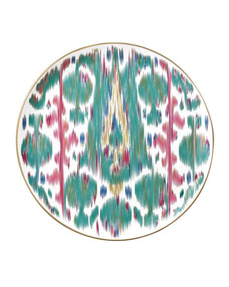 Hermès Voyage en Ikat Tart Platter