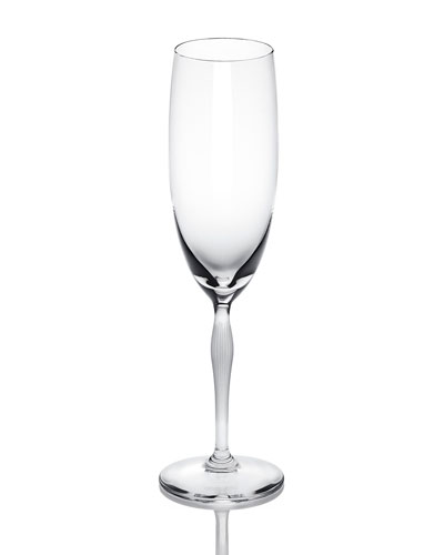 100 Points Crystal Champagne Flute