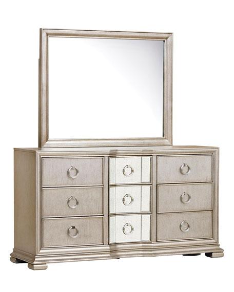 Vivian Mirrored Dresser