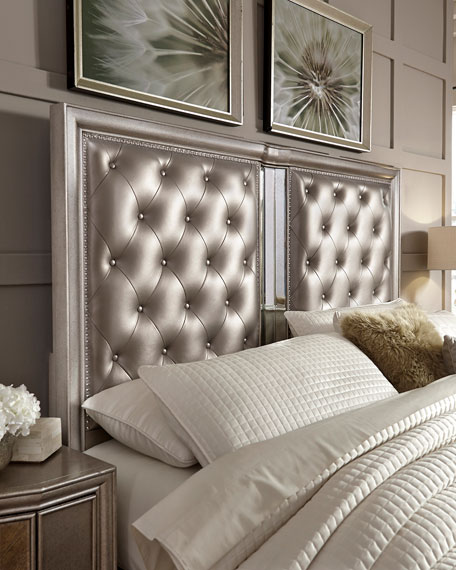 Vivian Tufted King Bed