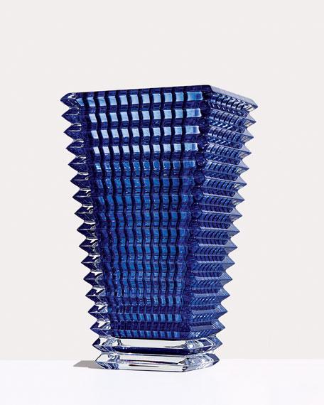 Blue Eye Large Rectangular Vase