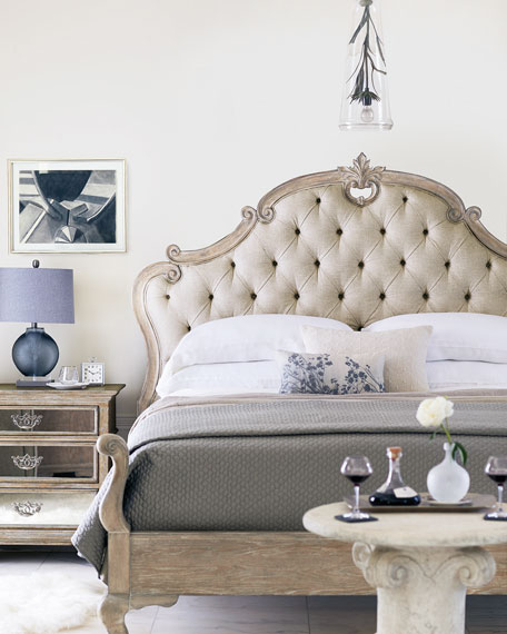 Ventura Tufted King Bed