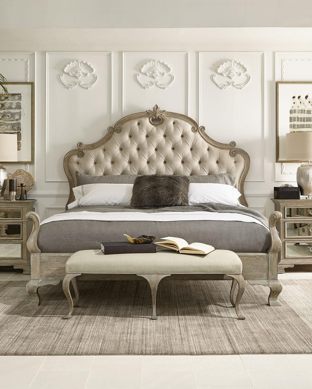 Bernhardtcampania Tufted King Bed