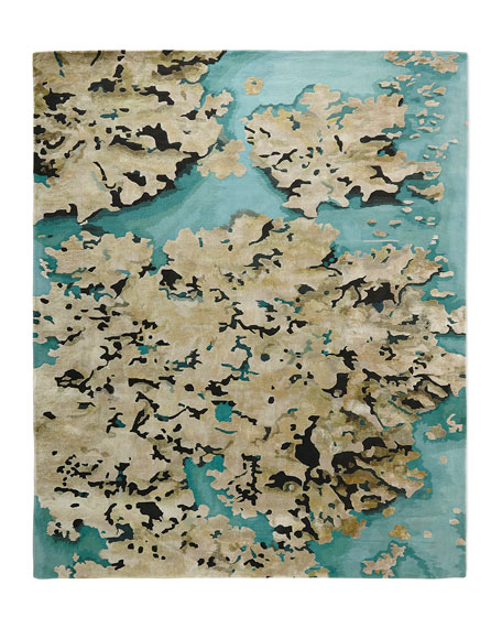 """Prism Sky Abstract Rug, 8'6"""" x 11'6"""""""