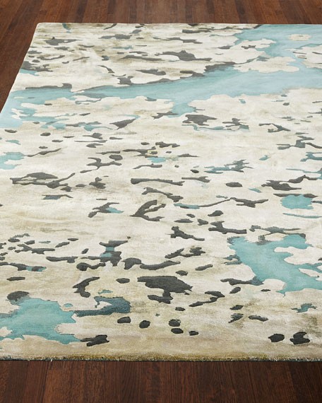 """Prism Sky Abstract Rug, 9'9"""" x 13'9"""""""