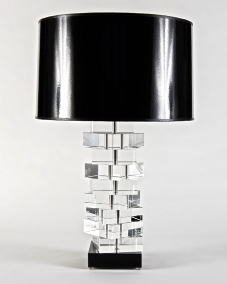 Square Glass Lamp