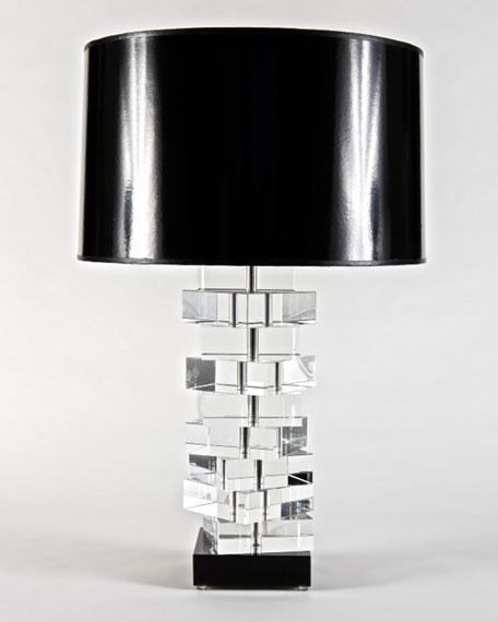 Square Glass Lamp