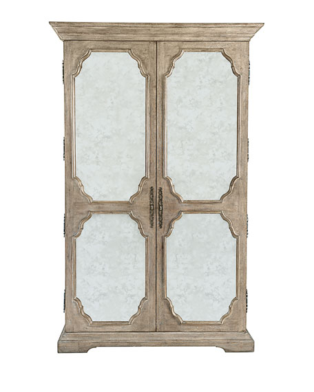 mirrored armoire