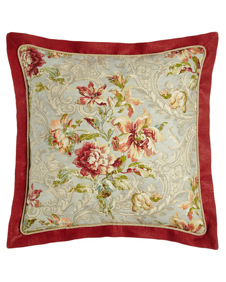 Sherry Kline Home European Fresco Sham with Paprika