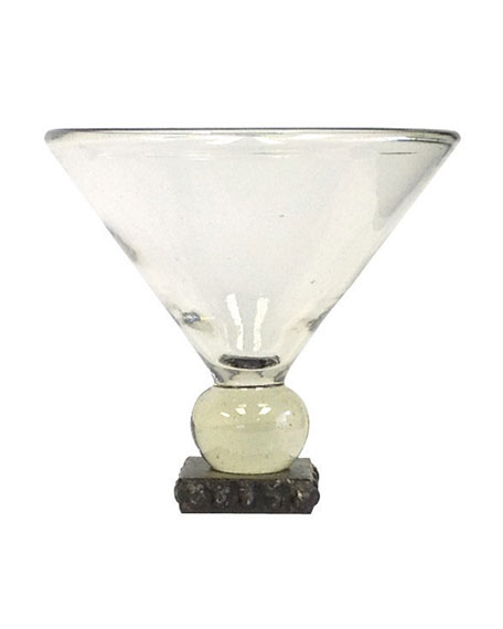 Postre Margarita Glass