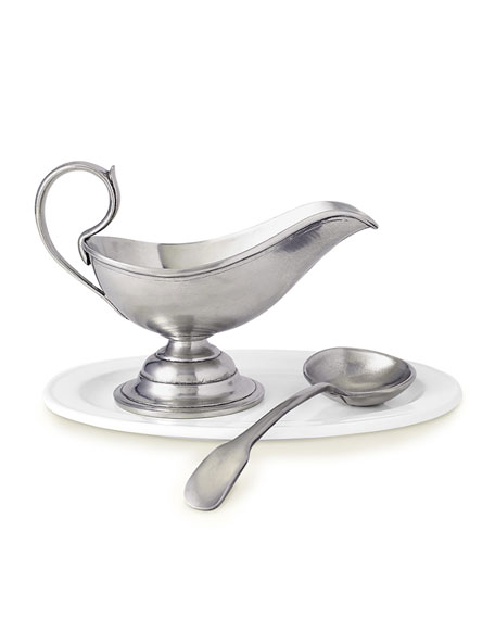Match Gravy Boat with Gravy Spoon