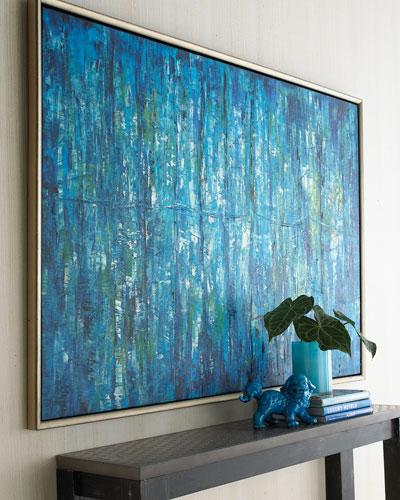 Blue Jinlu Original Painting